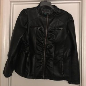 Rue 21 Plus Size Moto Jacket